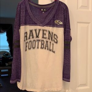 NFL team apparel Xl Ravens shirt